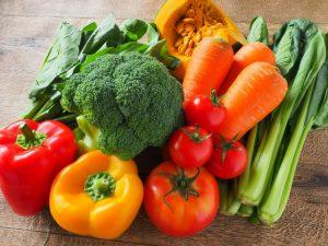 アンチエイジング効果のある緑黄色野菜